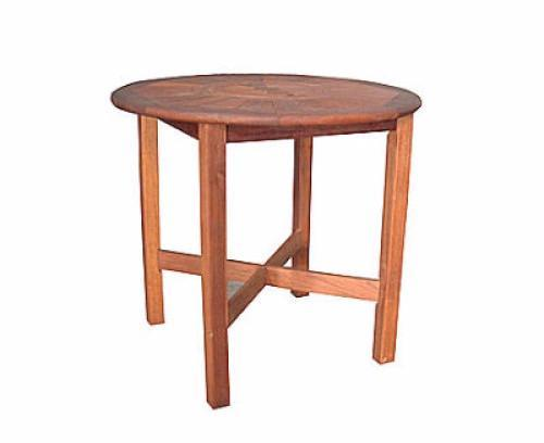 Kwila Prestige 1000mm Round Bar Table - Joe's BBQs