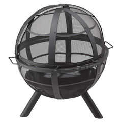 Landmann Ball of Fire - Steel Fire Pit with Cover!, Fire Pit, Landmann