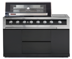 Gasmate Galaxy Black 6 Burner BBQ
