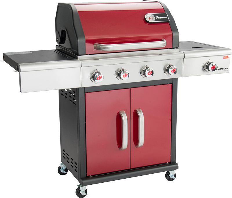 Landmann Triton 4.1 Bordeaux - 4 Burner (RED)