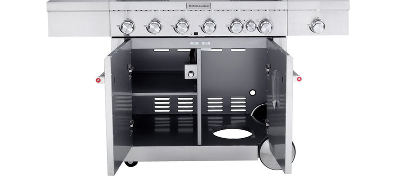 KitchenAid 6 Burner Freestanding BBQ - Joe's BBQs