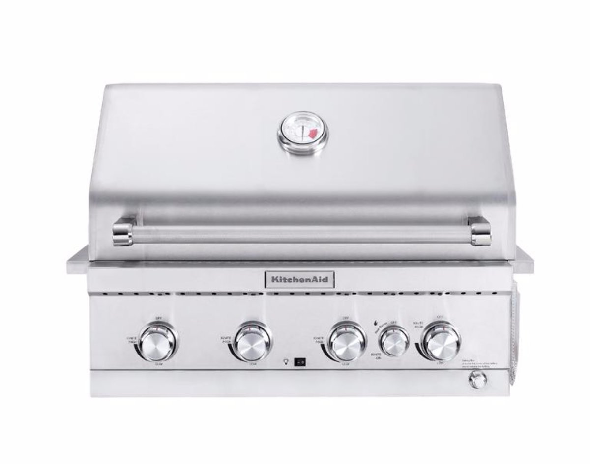 Kitchenaid 4 Burner Inbuilt Bbq Joe S Bbqs