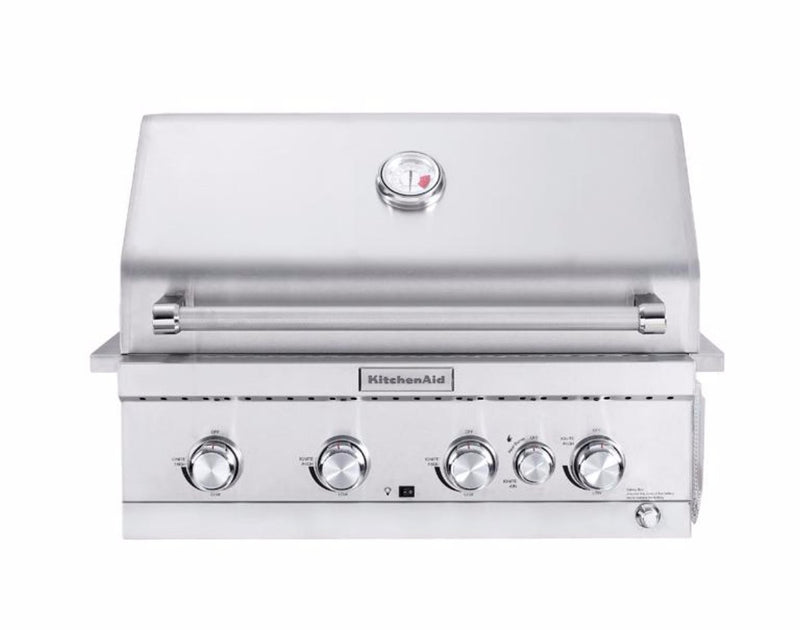 KitchenAid 4 Burner Inbuilt BBQ - Joe's BBQs