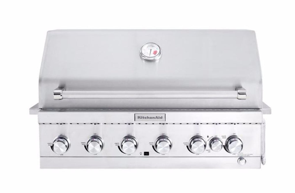 KitchenAid 6 Burner Inbuilt BBQ - Joe's BBQs