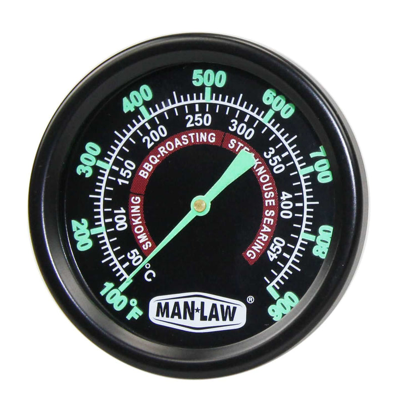 Man Law Grill/Smoker Gauge - Joe's BBQs