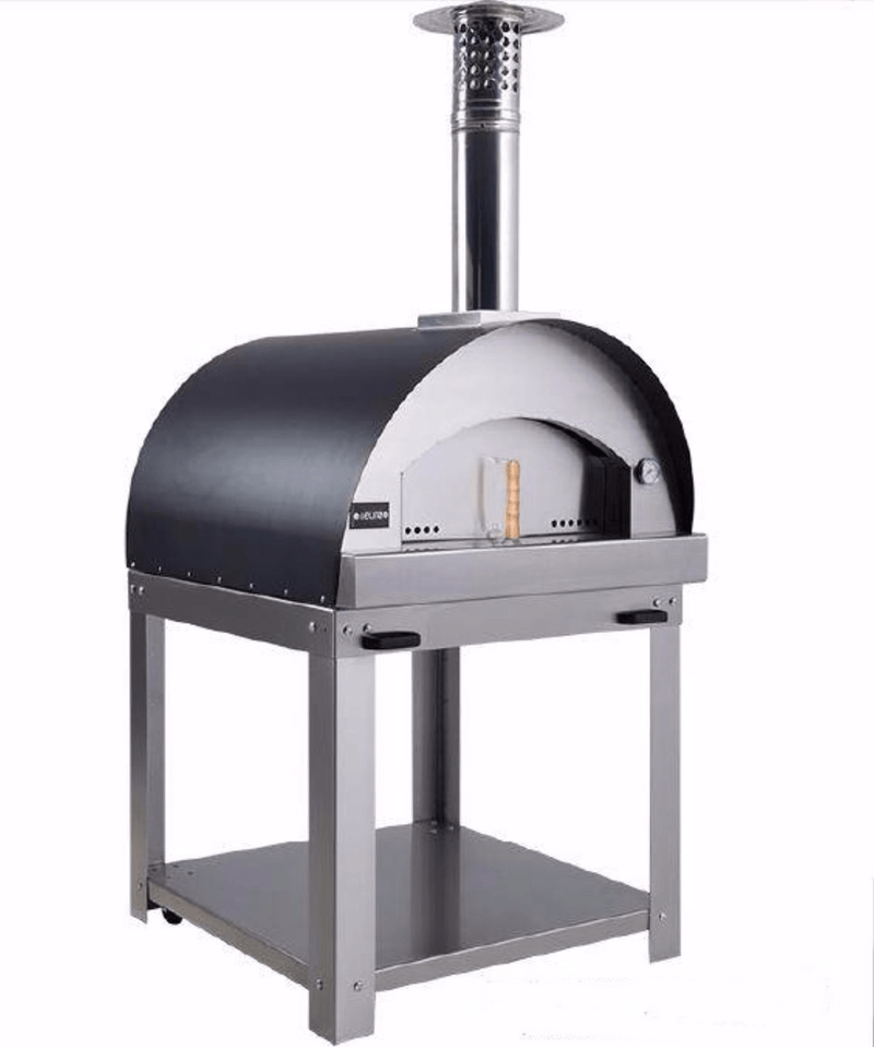 Euroappliance Large Wood Fire Pizza Oven Trolley - Joe's BBQs