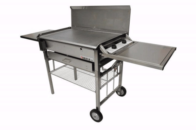 Heatlie 1150 Stainless Steel Mobile BBQ - Joe's BBQs