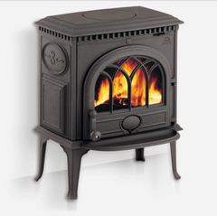 Jotul F3TD Matt Black Wood Heater - Tucker Barbecues