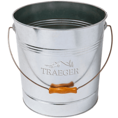 Traeger 9kg Pellet Metal Storage Bucket, BBQ Accessories, Traeger