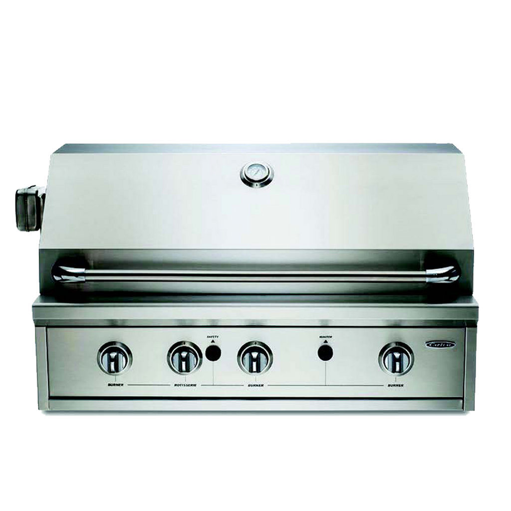 "Capital 36"" Built-In Open Grill BBQ with Solid Flat Plate"