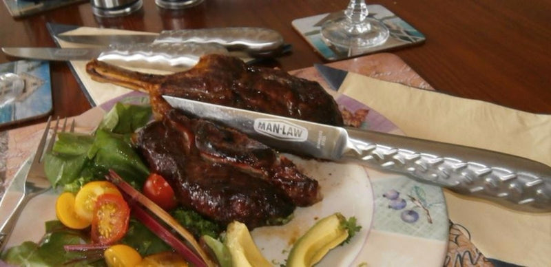 Man Law Steak Knife Set (4 pce) - Joe's BBQs