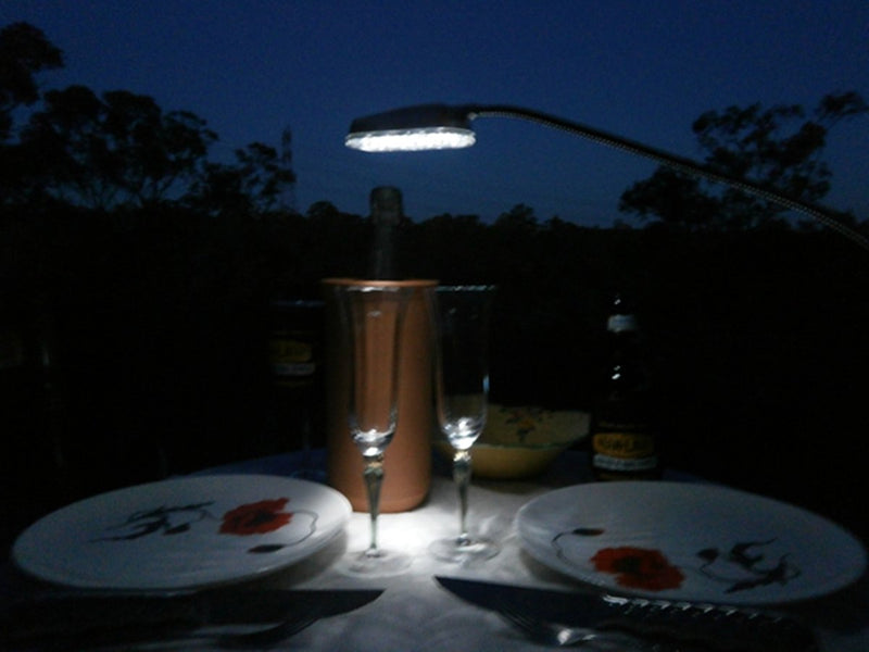 Man Law Clamp on BBQ Light - Joe's BBQs