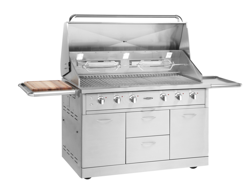 "Capital 52"" Freestanding BBQ with Solid Flat Plate"