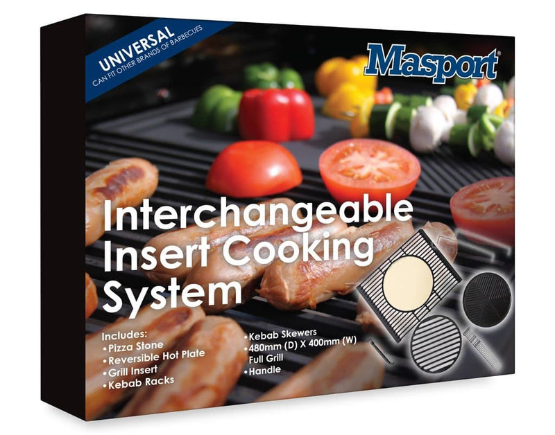 Masport Interchangeable Insert Cooking System: Matt Enamel for 210 Series - Joe's BBQs