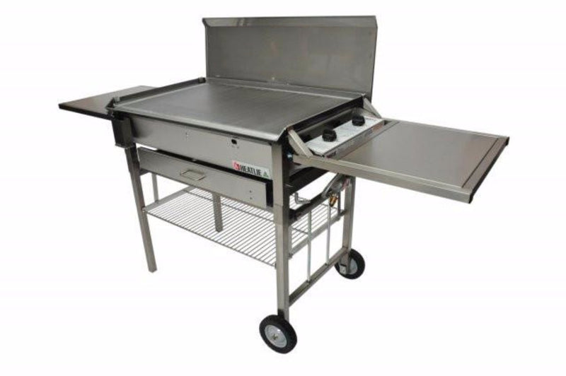Heatlie 700 Stainless Steel Mobile BBQ - Joe's BBQs
