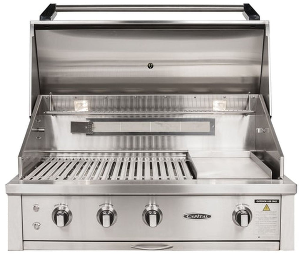 "Capital 40"" Built-In Open Grill BBQ"