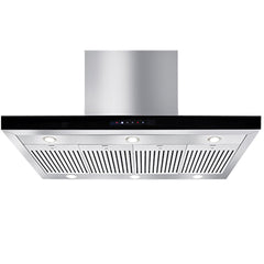 Artusi 120cm Canopy Outdoor BBQ Rangehood with Black Enamel