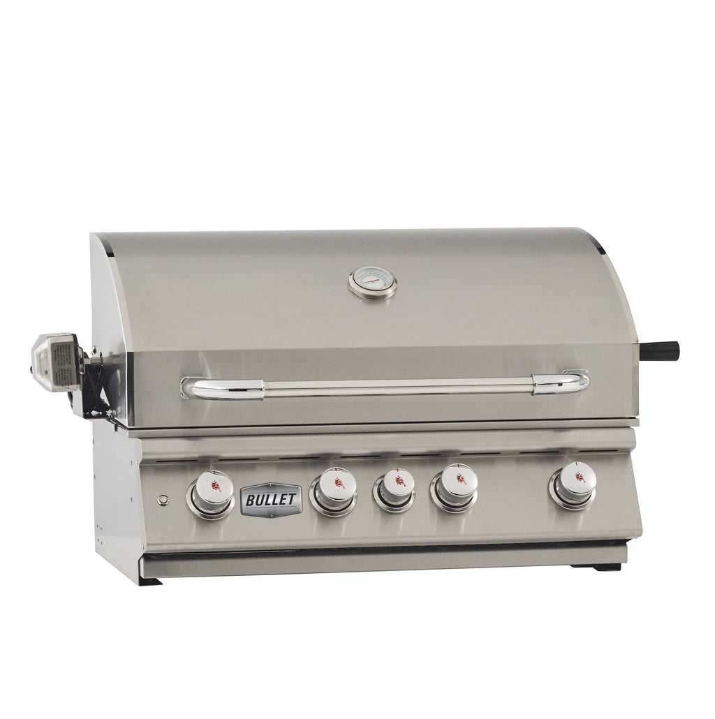 Bullet Angus 4 Burner Built-In Barbecue