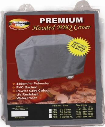 BBQ Cover Hooded Premium 4 Burner - Joe's BBQs