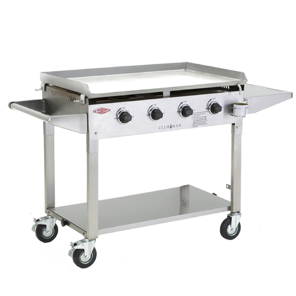 Beefeater Clubman Stainless Steel All Plate BBQ - Joe's BBQs