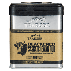 Traeger Blackened Saskatchewan Rub 227g, BBQ Accessories, Traeger
