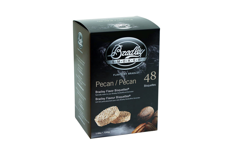 Bradley Pecan Bisquettes 48 Pack