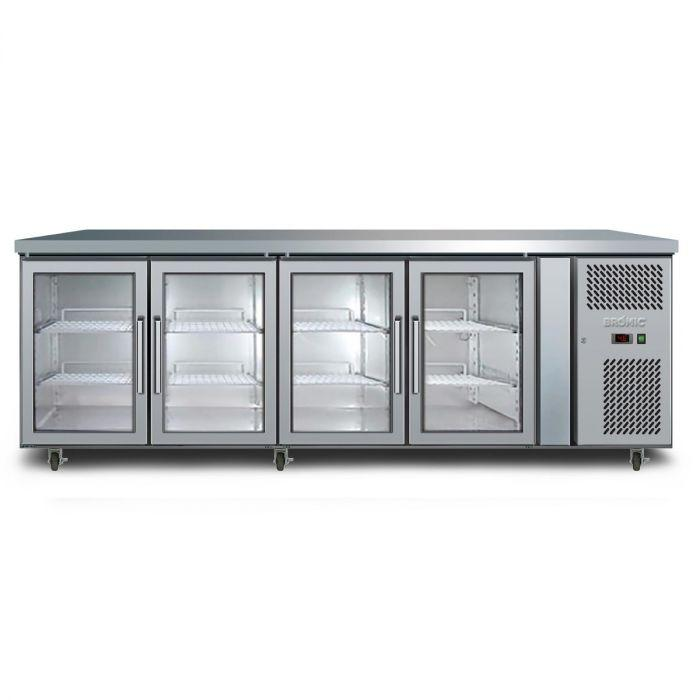 Bromic Underbench Four Door Display Chiller - 553L
