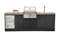Crossray 2 Burner BBQ Outdoor Kitchen
