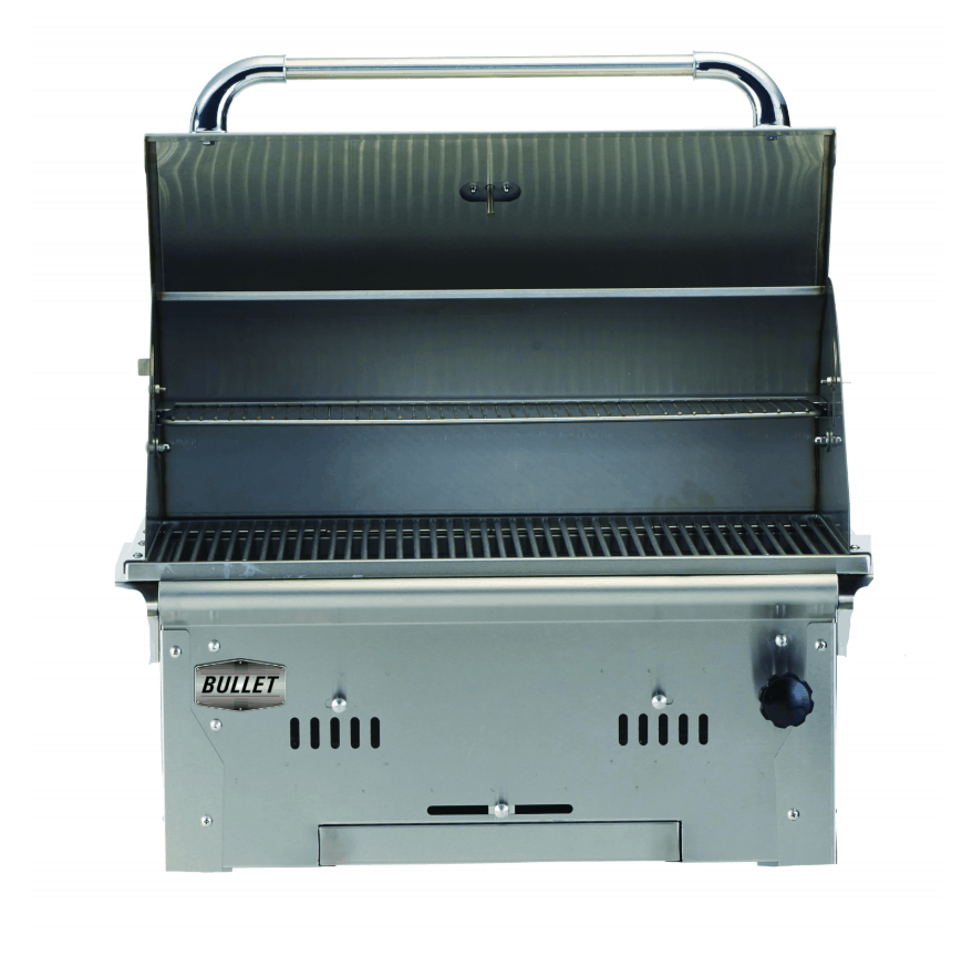 Bullet Bison Built-In Charcoal Barbecue