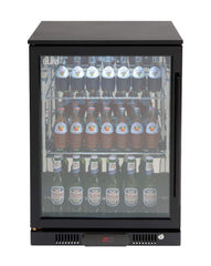 Euro Black Single Door Beverage Cooler - Joe's BBQs