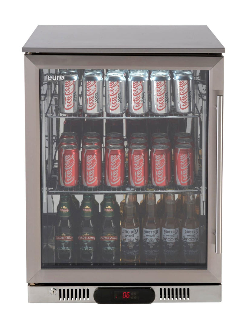 Euro Stainless Single Door Beverage Cooler - Joe's BBQs