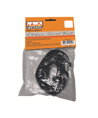FireUp Flat Adhesive Backed Black Tape