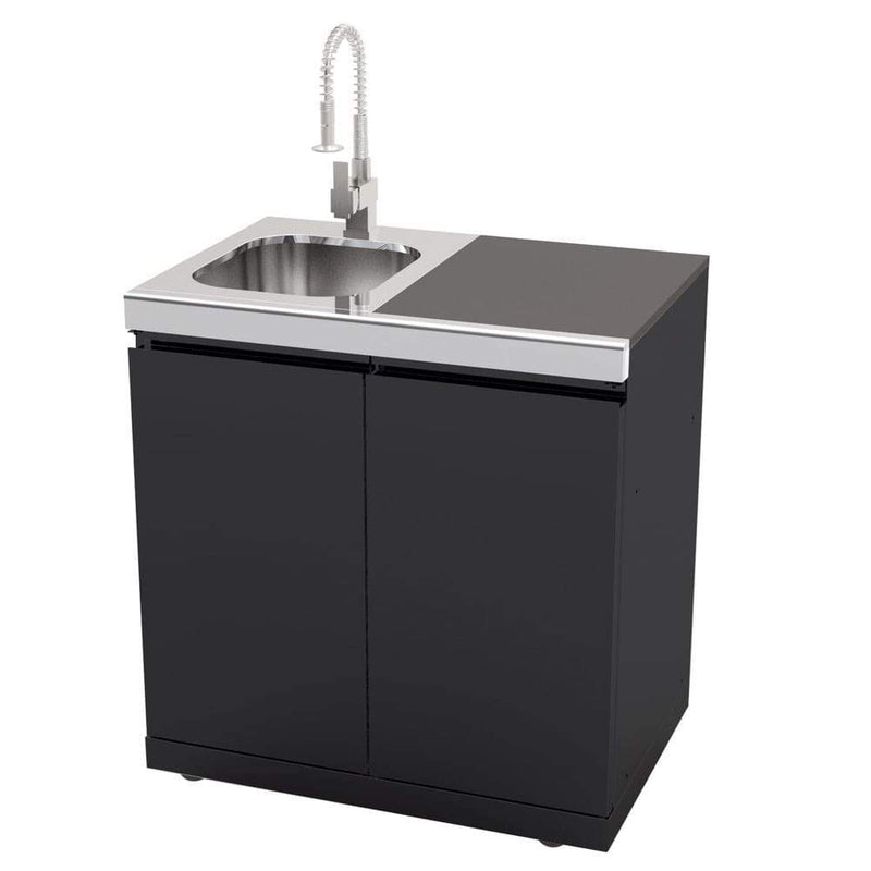 Gasmate Galaxy Black Sink, Bin & Storage Module