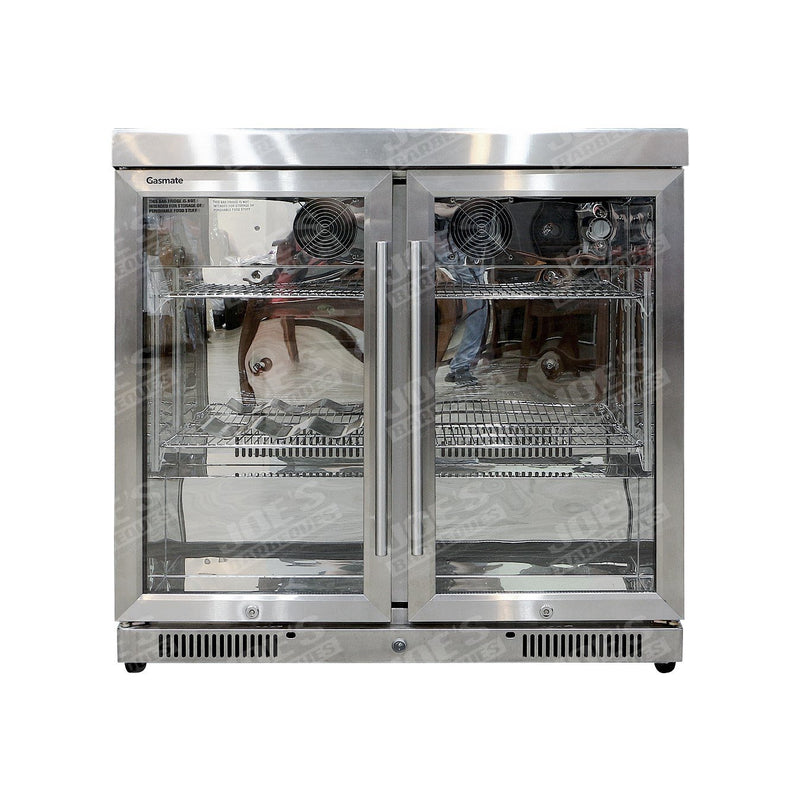 Gasmate Double Door Fridge Standard