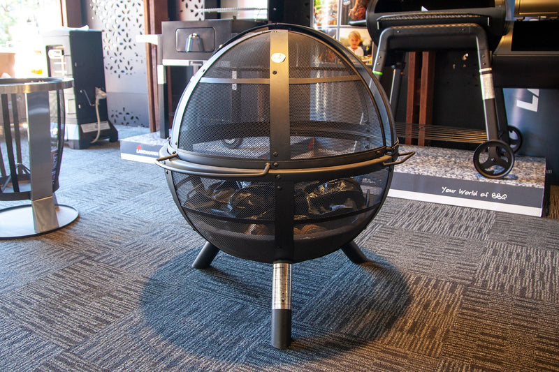 Landmann Ball of Fire - Steel Fire Pit with Cover!
