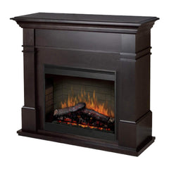 Dimplex Kenton 2kW Espresso Mantle with LED Firebox