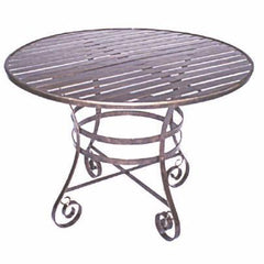 Melton Craft 107cm Round MFT-3 Table, Furniture, Melton Craft