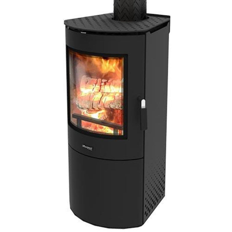 Masport Adena Freestanding Wood Fire, Heater, Glen Dimplex