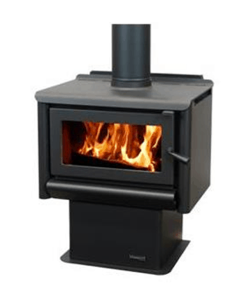 Masport Rosewood R1200 Freestanding Wood Fireplace