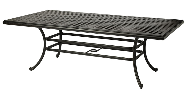 Melton Craft Nassau 184 x 100cm Cast Aluminium Table, Furniture, Melton Craft