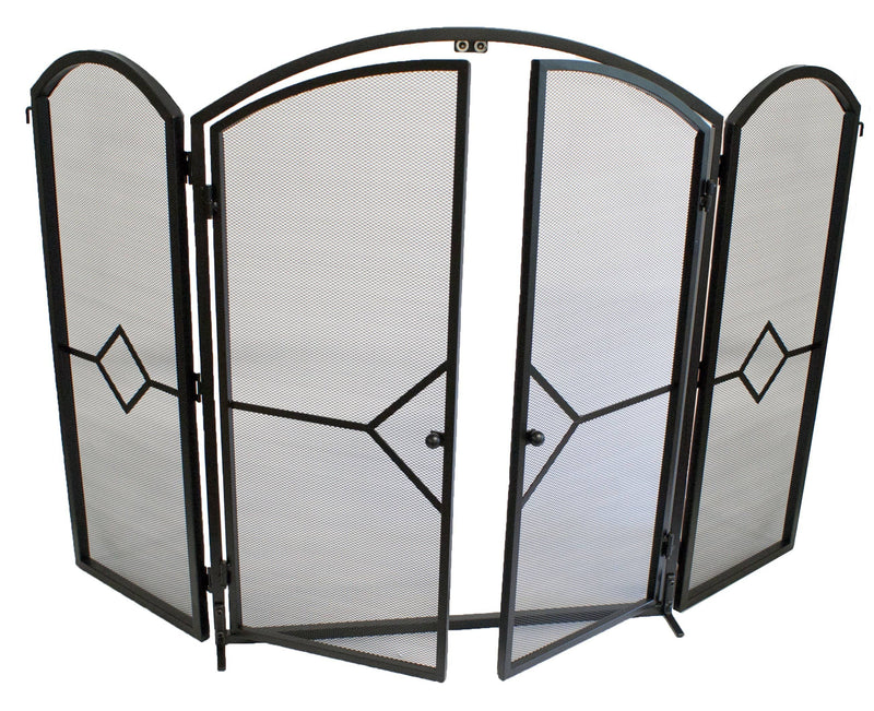 FireUp Opening Fire Screen with Gate