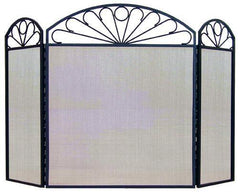 FireUp Three Fold Pattern Fire Screen