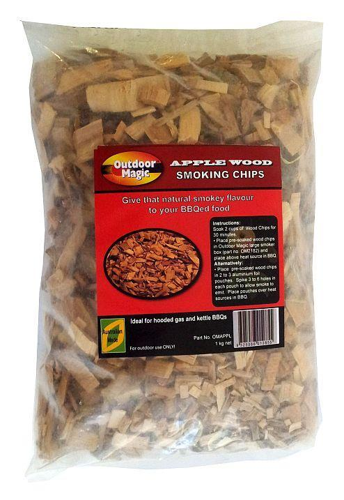 Outdoor Magic Apple 1kg Smoking Chips