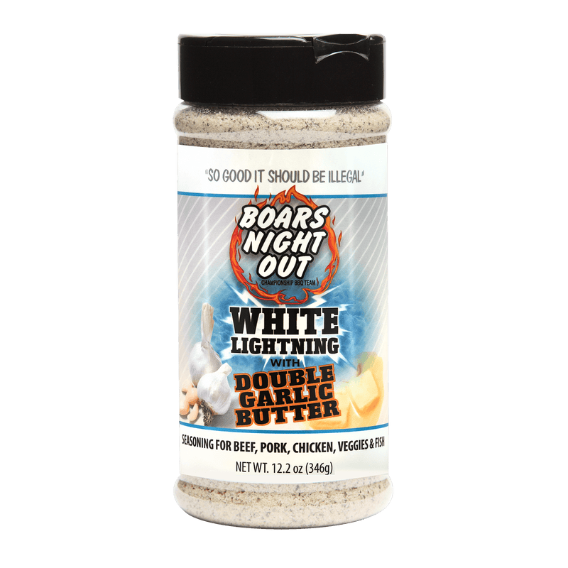 Boars Night Out White Lightning Rub with Double Garlic Butter