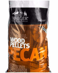 Traeger Pecan Pellets 9Kg Bag - Joe's BBQs