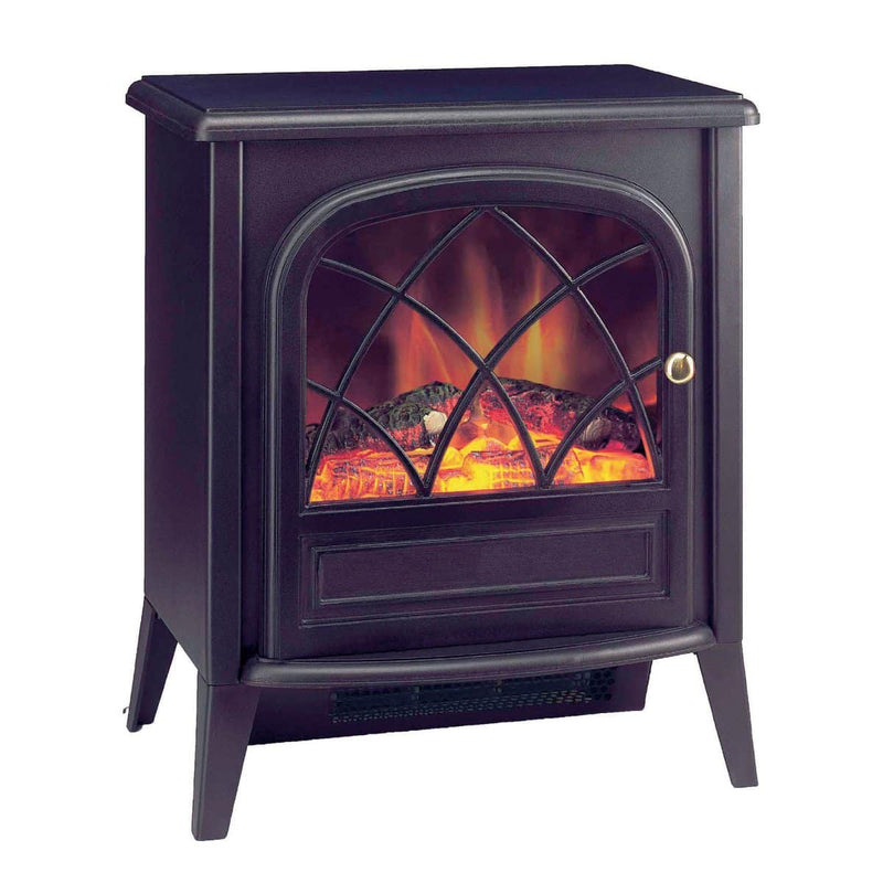 Dimplex Ritz 2kW Portable Electric Fire with Optiflame log effect