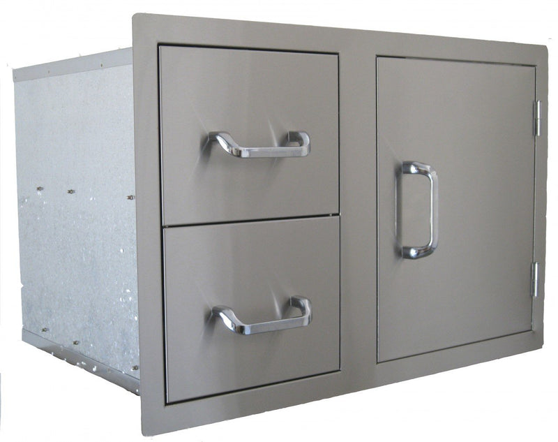 Beefeater Stainless Steel Single Door with 1 Drawers
