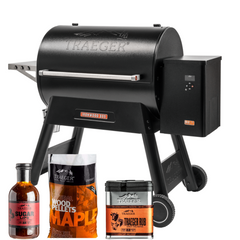 Traeger Ironwood Grill 885 Starter Package