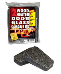 FireUp Wood Heater Door Glass Cleaners, Heater Accessories, S&D Berg