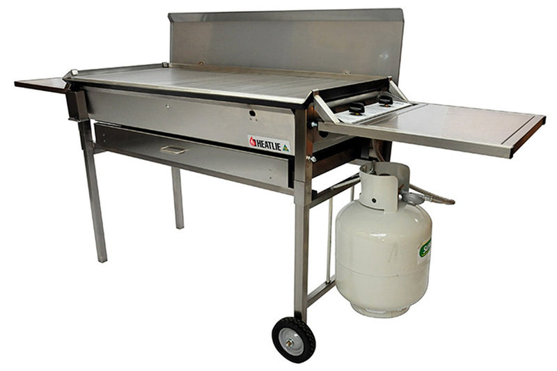 Heatlie 850 Stainless Steel Mobile BBQ